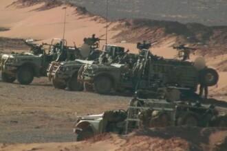 Trupele speciale britanice, fotografiate pentru prima data operand pe teritoriul Siriei. Imaginile prezentate de BBC