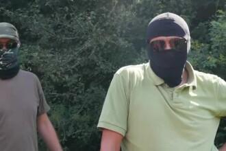 Anchetatorii DIICOT nu exclud varianta ca presupusii traficanti de arme, prezentati de Sky News, sa provina din Ucraina