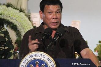 Dupa ce l-a injurat pe Papa, presedintele statului Filipine il jigneste rau pe ambasadorul SUA: