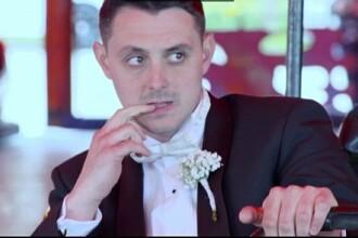 Reactia miresei in momentul in care a aflat ce surpriza ii va face logodnicul in ziua nuntii. FOTO