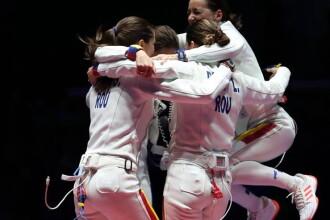 AUR! Echipa de spada a adus primul titlu olimpic al Romaniei la Rio. Mesajul presedintelui Klaus Iohannis pentru sportive