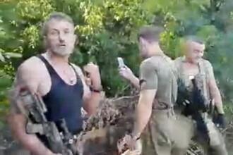 """Soldati ucraineni filmati jucand Pokemon Go in zona de razboi cu prorusiii. """"Invitam pe toata lumea sa ni se alature"""