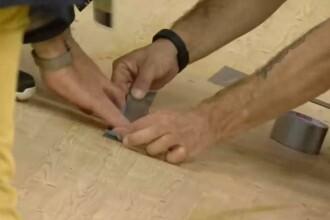 Oficialii de la Rio au reparat o gaura din podeaua velodromului cu banda adeziva. Ce a provocat spartura: VIDEO