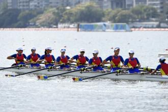 Patru medalii pentru Romania. Echipajul feminin de 8+1 al Romaniei a cucerit medalia de bronz