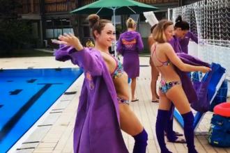 O ucraineanca a simulat un numar de striptease la antrenamente, la Rio. Imaginile cu Anna Voloshyna s-au viralizat
