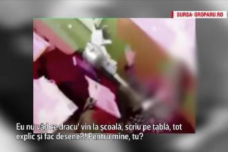 Invatatoare din Cluj, filmata in timp ce tipa la elevi de clasa a doua. Parintii, nemultumiti de pedeapsa pe care a primit-o