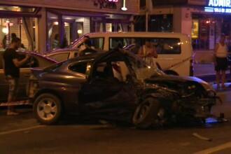 Sase masini au fost implicate intr-un accident in Capitala. Un sofer a avut nevoie de interventia echipelor de descarcerare