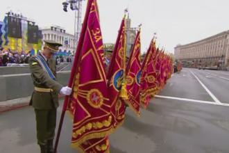 Ucraina a sarbatorit 25 de ani de independenta cu o parada militara grandioasa. Atacul lui Poroshenko la adresa lui Putin