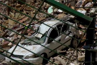 Reactia unui supravietuitor al cutremurului din Italia cand vede ce a mai ramas din strada lui: