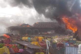 Coliziune intre un autobuz si un camion in Tunisia: cel putin 15 persoane au murit si 71 au fost ranite