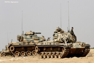 Trei aliati ai SUA se lupta intre ei in nordul Siriei. Rebelii sirieni si soldatii turci ii ataca pe kurzii pro-americani
