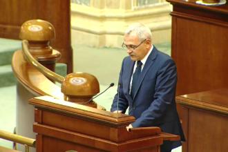 USR va depune o plângere penală pe numele preşedintelui Camerei Deputaţilor. De ce este acuzat Liviu Dragnea.