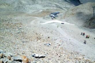 Trei persoane au murit în urma prăbuşirii unui avion de mici dimensiuni în Elveţia