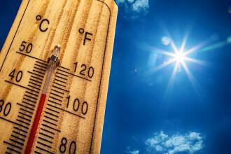 Caniculă, disconfort termic şi instabilitate atmosferică până luni