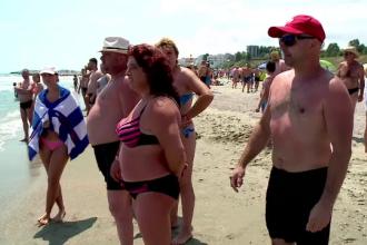 22 de turişti salvați din apă de salvamari pe litoral. Un bărbat a rămas agațat de geamandură