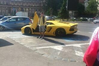 Gestul sfidător al unui milionar român. Cum și-a parcat bolidul de lux