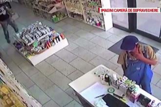 Cei doi bărbaţi care au furat dintr-o farmacie din Târgu Mureş, căutaţi de poliţie