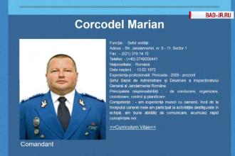 Colonelul Marian Corcodel de la Jandarmerie vrea să i se ridice sechestrul