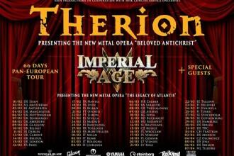 Trupa Therion va concerta la București în 2018
