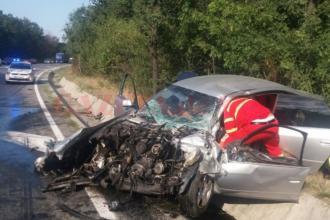 O femeie însărcinată a murit în urma unui accident în județul Olt