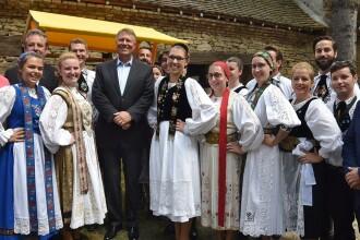 Mesajul lui Klaus Iohannis la Haferland, festivalul saşilor