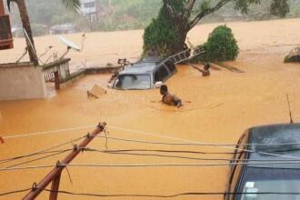 Cel puţin 312 morţi în alunecări de teren din Sierra Leone