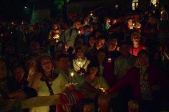 40.000 de oameni în pelerinajul de Sf. Maria, de la Mănăstirea Nicula