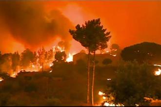 Incendii de vegetație în mai multe zone turistice din Europa