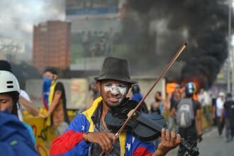 Drama violonistului care a protestat față de președintele Maduro