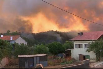 Stare de urgenţă în Portugalia din cauza incendiilor masive