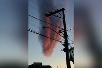 """Apariție ciudată pe cerul unui oraș brazilian. E """"lucrarea lui Dumnezeu"""""""