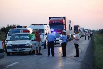Accident grav în Buzău, cu 2 morți și 5 răniți. Șoferul care a provocat impactul era băut