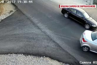 Doi șoferi s-au luat la bătaie, după s-au izbit cu mașinile. Impactul, filmat