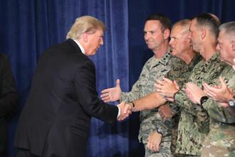 """Trump exclude orice retragere din Afganistan şi denunţă Pakistanul drept o vizuină a """"agenţilor haosului"""""""