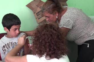 Campanie de vaccinare împotriva rujeolei gratuită, în Mures