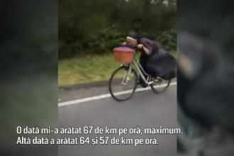 O călugăriţă din Polonia face senzaţie cu stilul îndrăzneţ de mers pe bicicletă