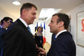 Iohannis a vorbit la telefon cu președintele Franței. Discuții despre epidemia de Covid-19