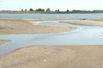 Din cauza secetei, nivelul și debitul Dunării riscă să ajungă la minime istorice