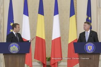 Vizita lui Macron poate afecta piaţa muncii de la noi. Reacţia lui Iohannis