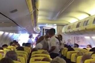 Zbor Ryanair, deviat după ce mai mulți pasageri au devenit violenți. VIDEO
