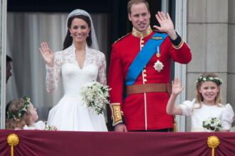 Felie de tort, de la nunta Prințului William, scoasă la licitație