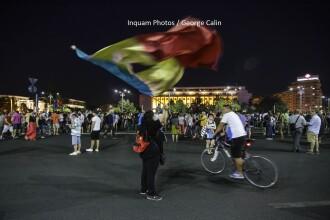 Proteste în ţară şi străinătate. Peste 2.000 de oameni în Piaţa Victoriei; incidente cu jandarmii