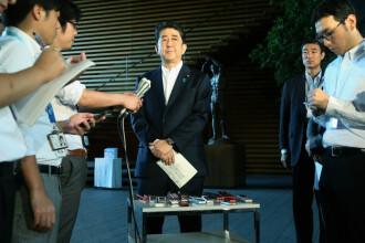 Premierul japonez Shinzo Abe dizolvă Parlamentul și convoacă alegeri anticipate