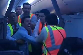 O aeronavă AeroMexico a aterizat de urgență, în urma unui scandal iscat la bord