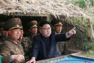 Coreea de Sud a lansat 8 bombe lângă granița cu Coreea de Nord