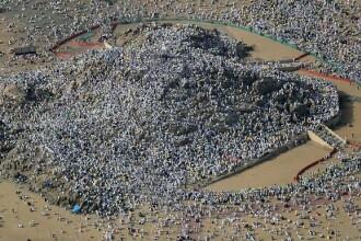 Scene incredibile. Peste 2 milioane de musulmani, pe Muntele Arafat de lângă Mecca