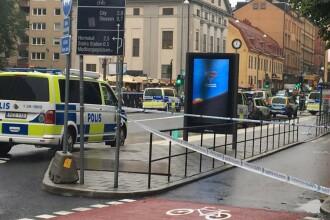 Poliţist înjunghiat în spate şi în gât la Stockholm