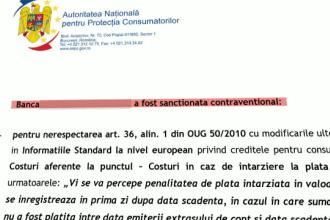 De ce nu a publicat ANPC numele băncilor amendate pentru că și-au înșelat clienții