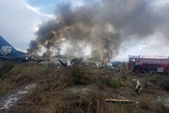 Un avion cu 103 persoane la bord s-a prăbușit în Mexic la scurt timp după decolare