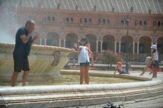 Atenţionare pentru românii care călătoresc în Spania: Cod portocaliu de caniculă în sud